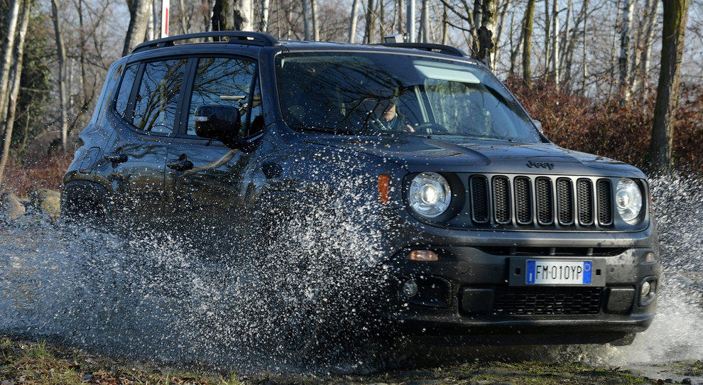 La rinnovata Jeep Renegade