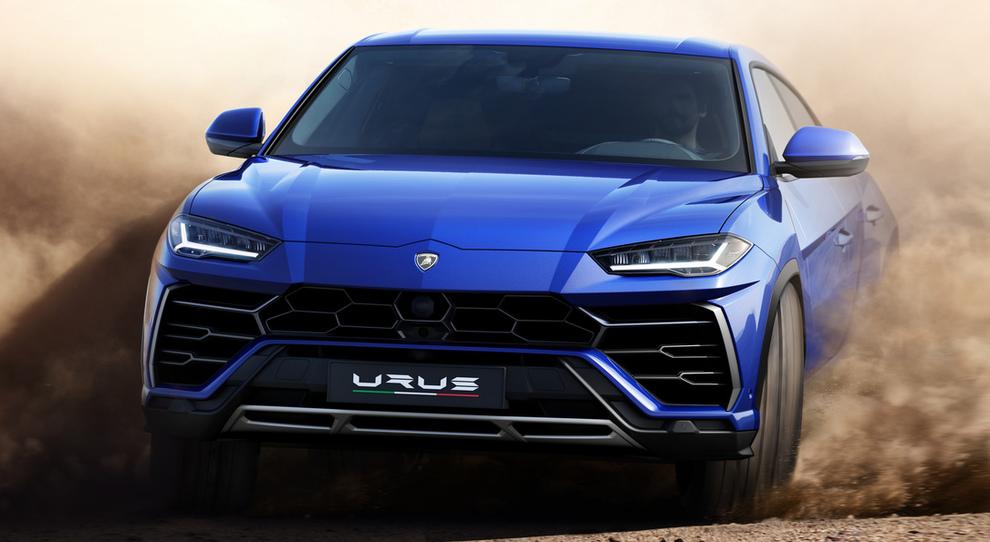 La Lamborghini Urus