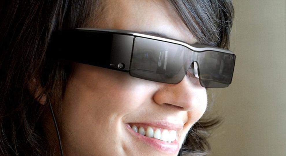 Un tipo di smart glasses
