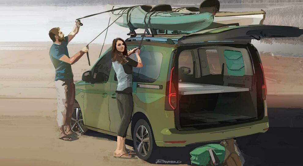 Il nuovo camperino su base Ceddy della Volkswagen