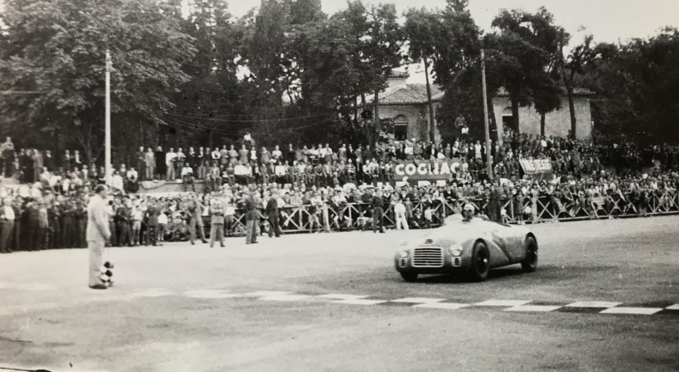 Una foto storica del Gran Premio di Roma alle Terme di Caracalla del 1947