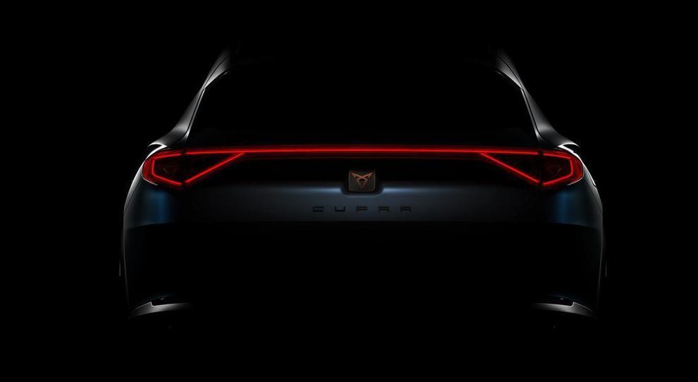 Il teaser della Cupra Concept Car