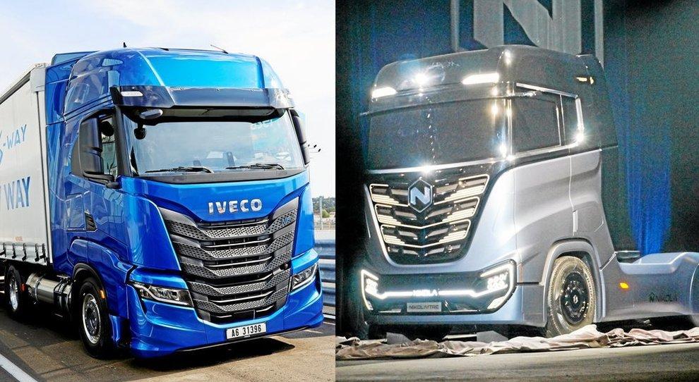 Due camion Iveco e Nikola che costruiranno insieme il camion elettrico a idrogeno
