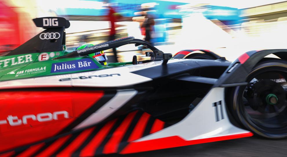 L'Audi di Di Grassi in gara 2 a Berlino