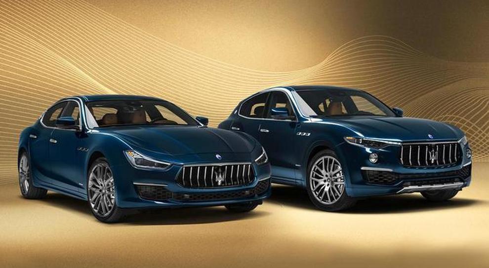 Le Maserati Levante e Ghibli Royale