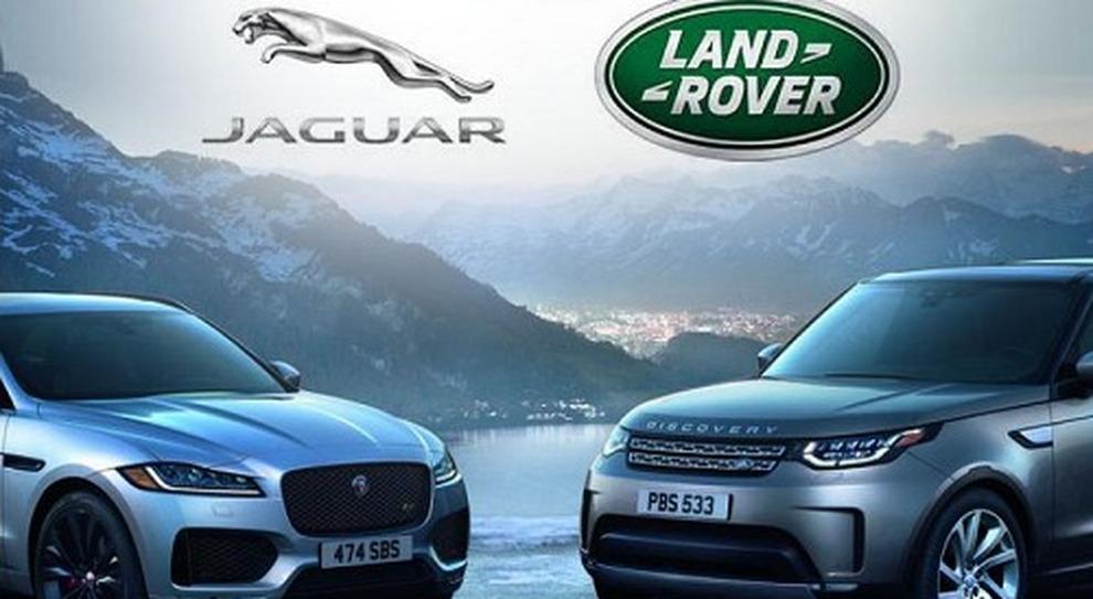 Il simbolo Jaguar Land Rover