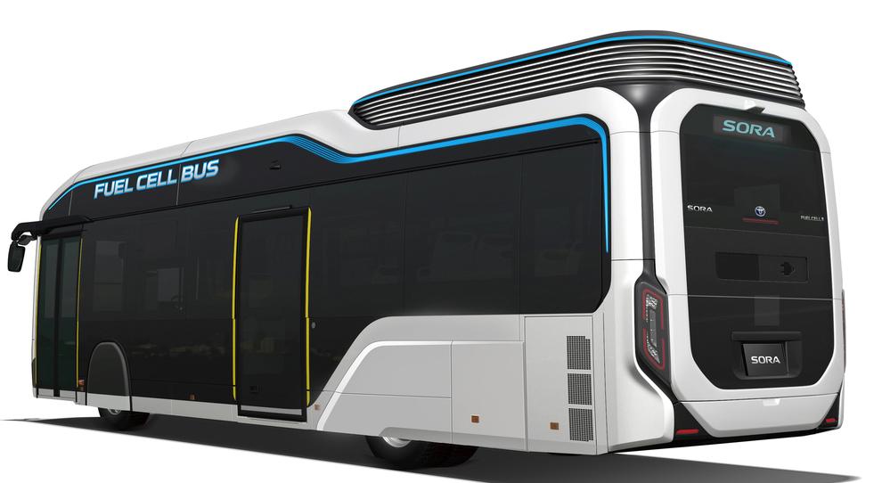 Sora, il bus a fuell cell di Toyota