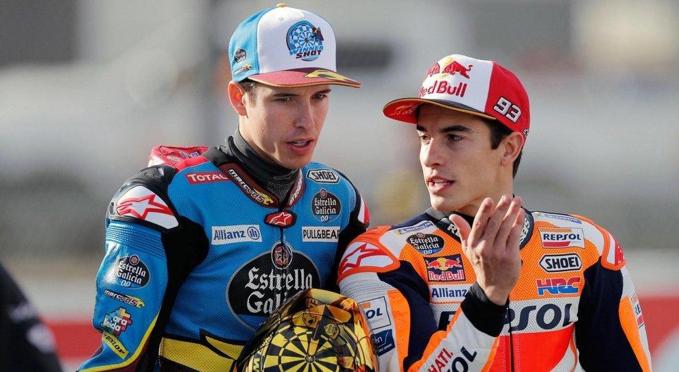 Alex e Marc Marquez saranno compagni di squadra alla Honda Repsol in MotoGp