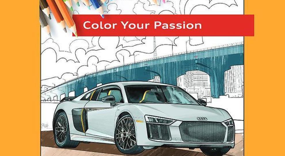 Uno dei disegni di Audi da scaricare