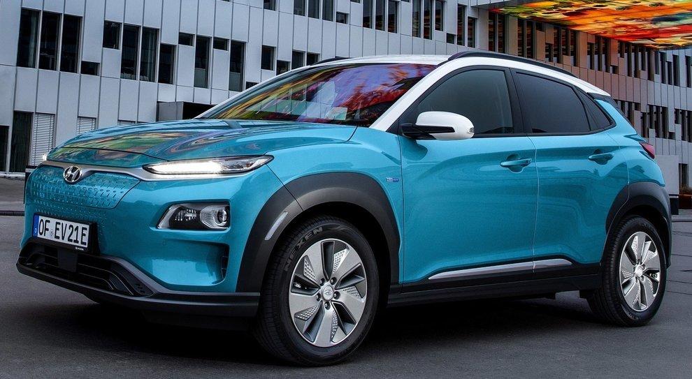 La Hyundai Kona EV