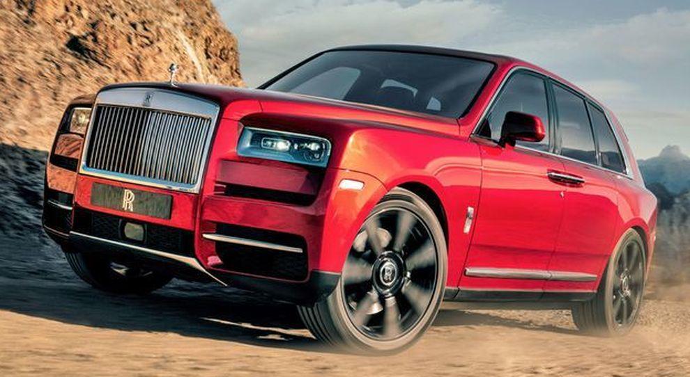 Il nuovo Rolls-Royce Cullinan