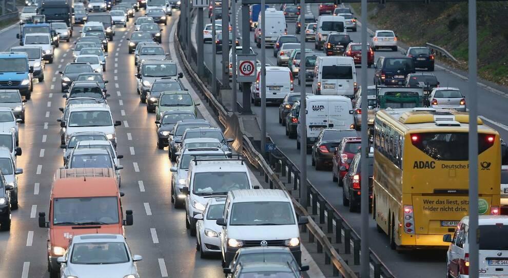 Traffico in autostrade tedesche