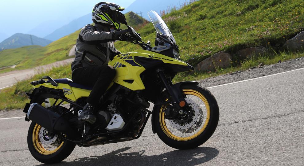 La nuova Suzuki V-Strom 1050