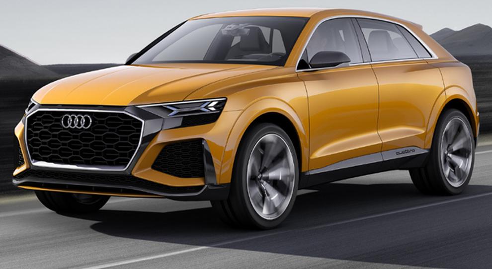 L'Audi Q8 sport concept