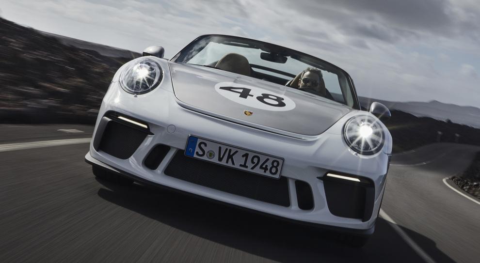 La nuova Porsche 911 Speedster