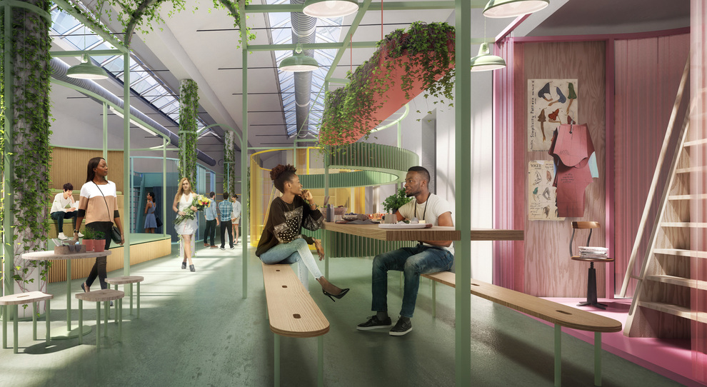 La casa istallazione presentata da Mini quest'anno alla Milano Design Week