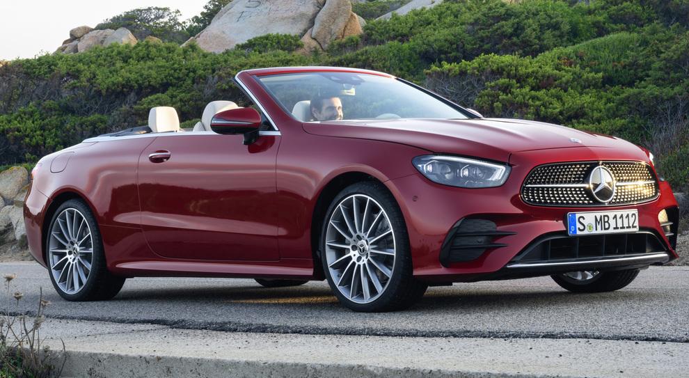 La nuova Mercedes Classe E cabrio