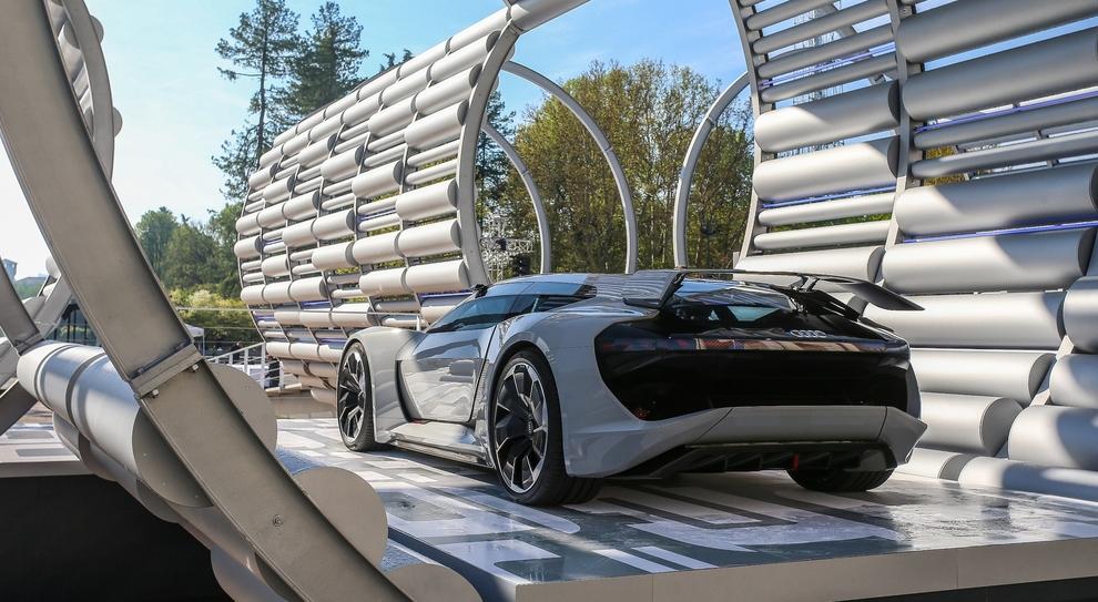 Un'installazione Audi alla Milano Design Week