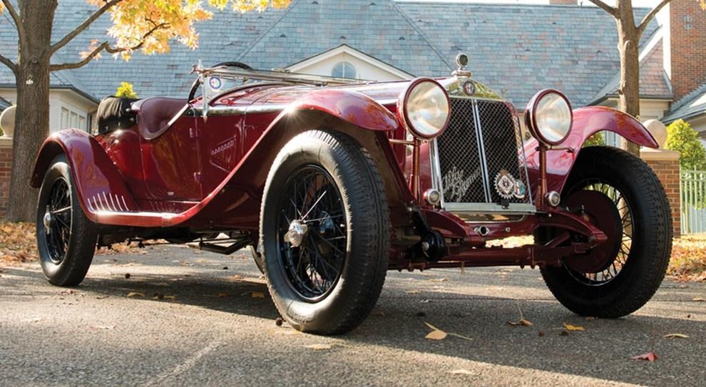 Alfa Romeo 1750 6C Gran Sport Zagato del 1931