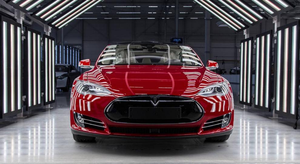 Uno stabilimento Tesla