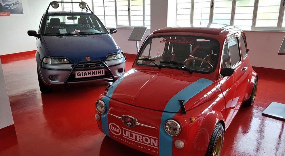 Due dei gioielli Giannini che sfileranno a Vallelunga il 29 ottobre