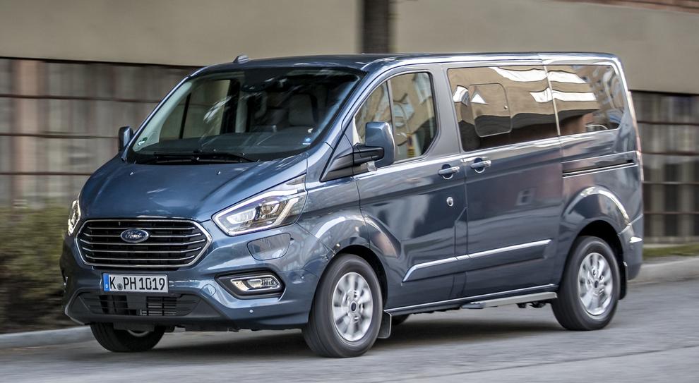 Il Ford Transit Custom plug-in