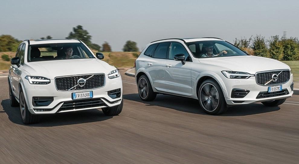 Le Volvo XC60 e XC90 ibride plug-in