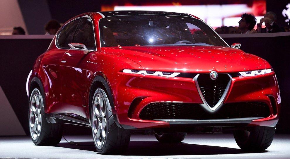 L'Alfa Romeo Tonale concept svelata a Ginevra