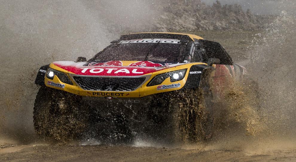 La Peugeot 3008 Buggy del nuovo leader Carlos Sainz