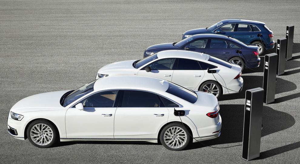 La gamma Audi delle Ibride plug-in