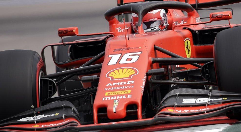 Gp di Russia, quarta pole di fila per Leclerc. Secondo Hamilton, 3° Vettel