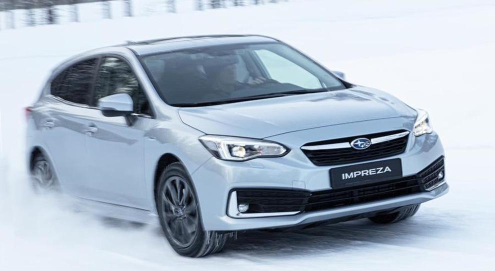 La Subaru Impreza e-Boxer in Scandinavia