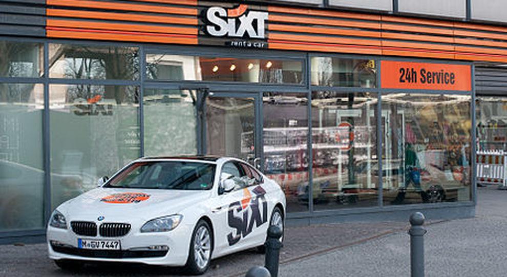 Un autonoleggio Sixt