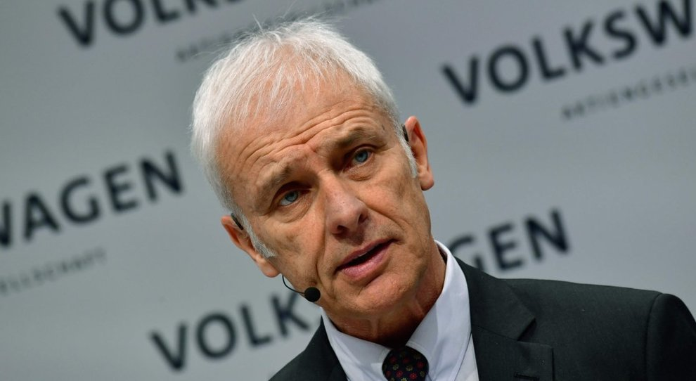 Matthias Mueller, ceo del Volkswagen Group
