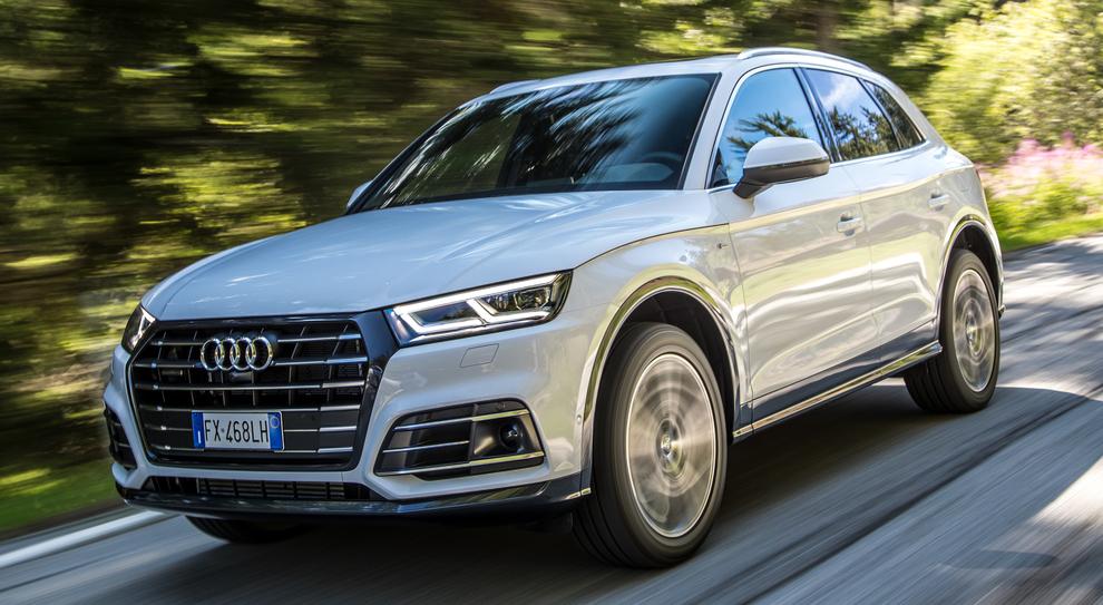l'Audi Q5 ibrida plug-in