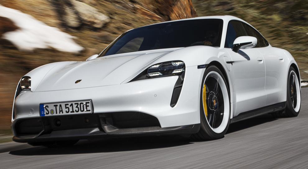 La Porsche Taycan