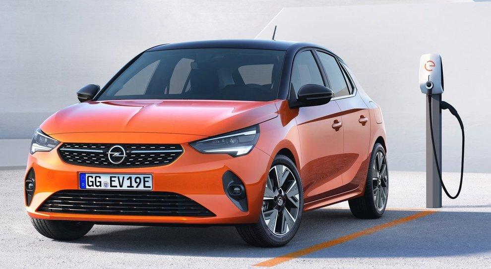 La Opel Corsa elettrica