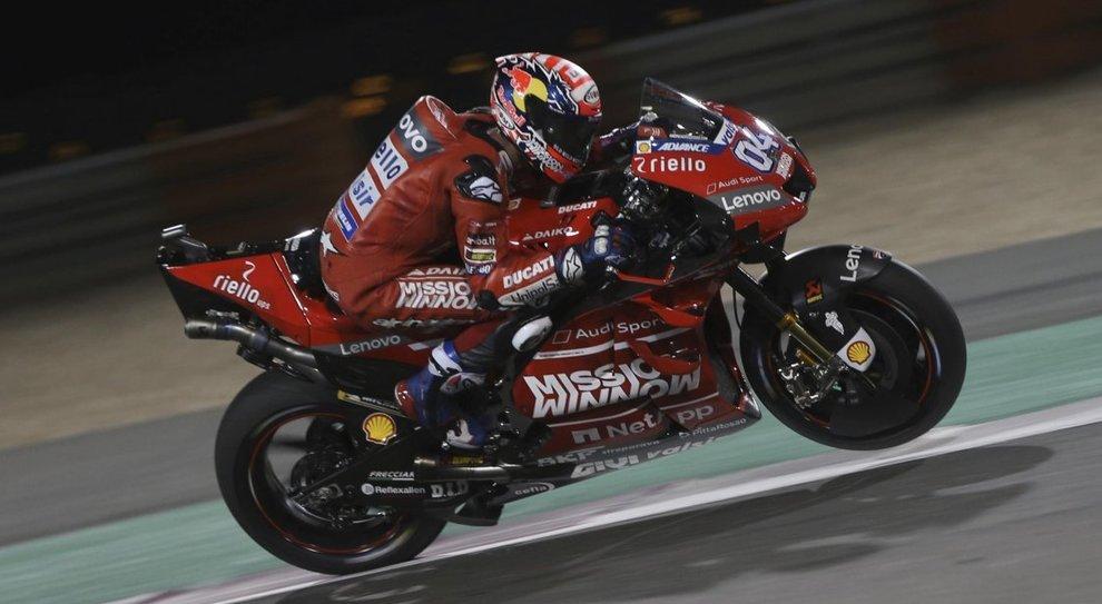 La Ducati di Andrea Dovizioso vincitrice in Qatar