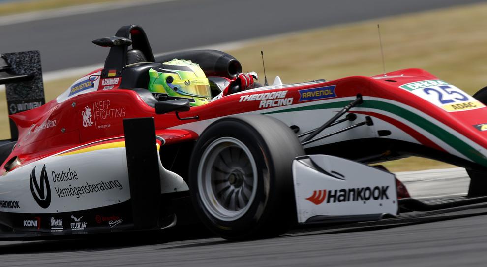 Mick Schumacher al volante della Prema