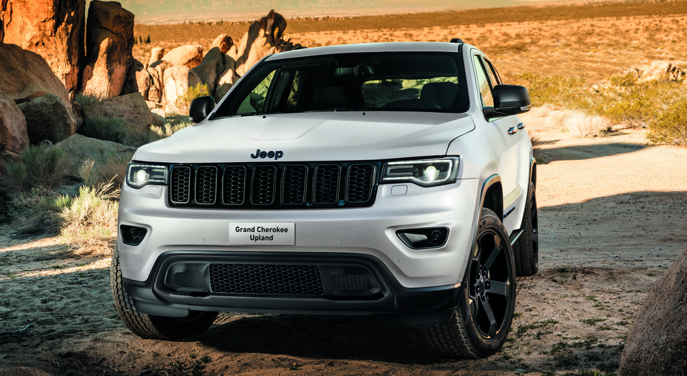 Jeep Grand Cherokee in versione Upland
