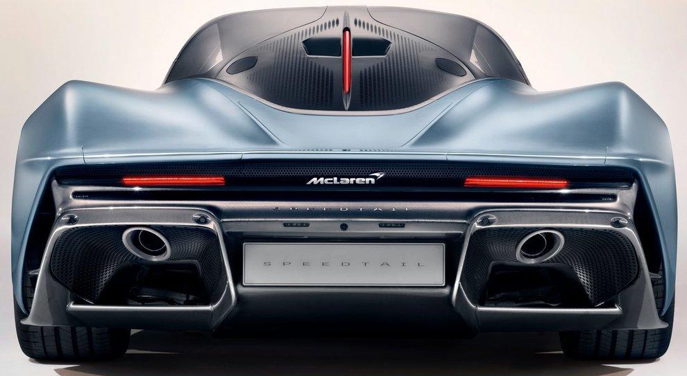 Una McLaren Speedtail