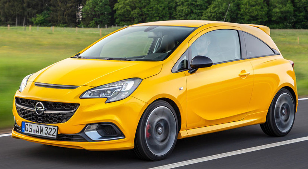 La brillante Opel Corsa Gsi