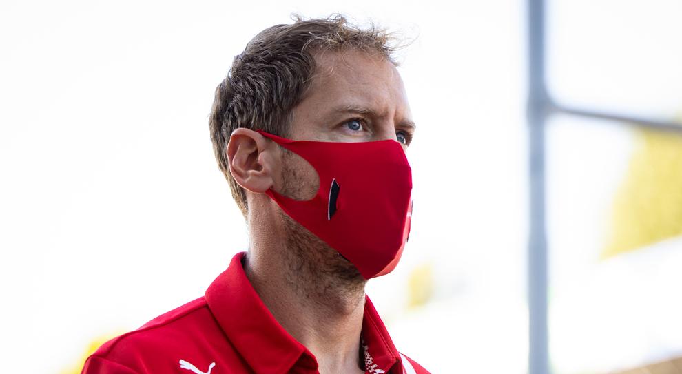 Nella foto, Sebastian Vettel