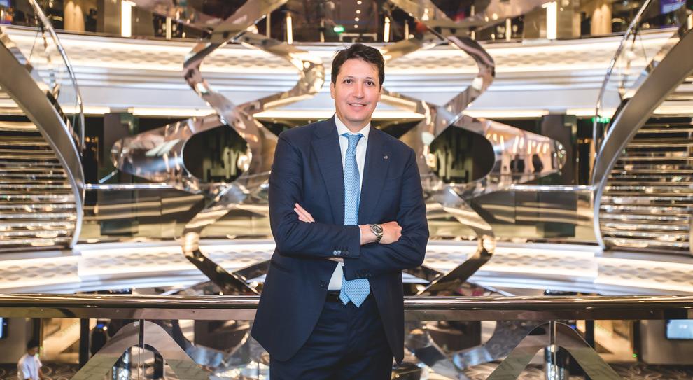 Leonardo Massa, country manager di Msc Crociere