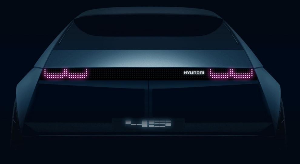 Un rendering della Hyundai 45 concept