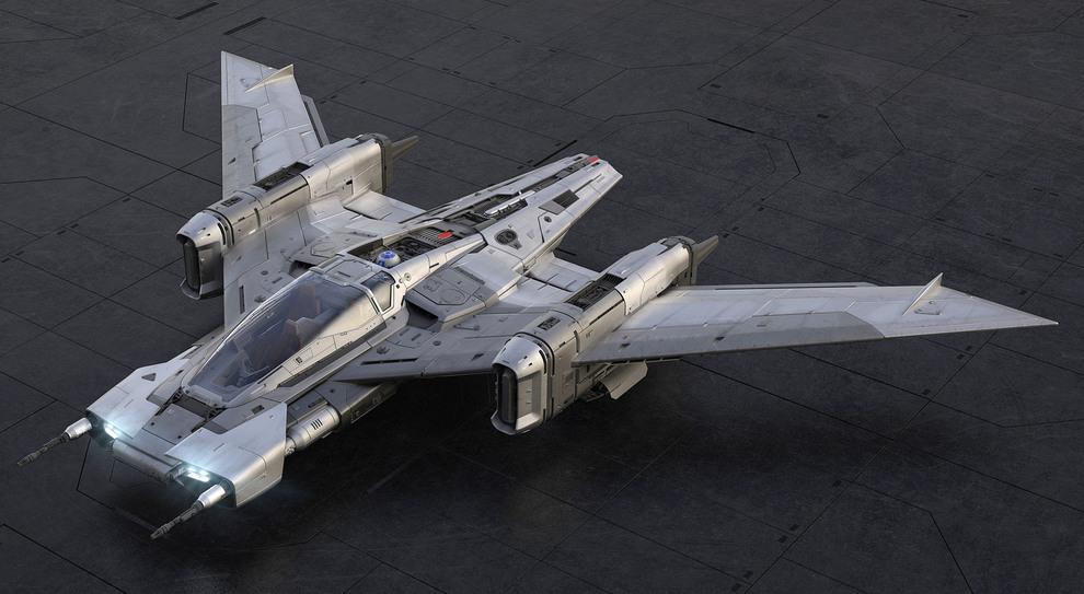 Il Tri-Wing S-91x Pegasus è il frutto congiunto del centro stile Porsche e gli studi di elaborazione grafica della Lucas Film