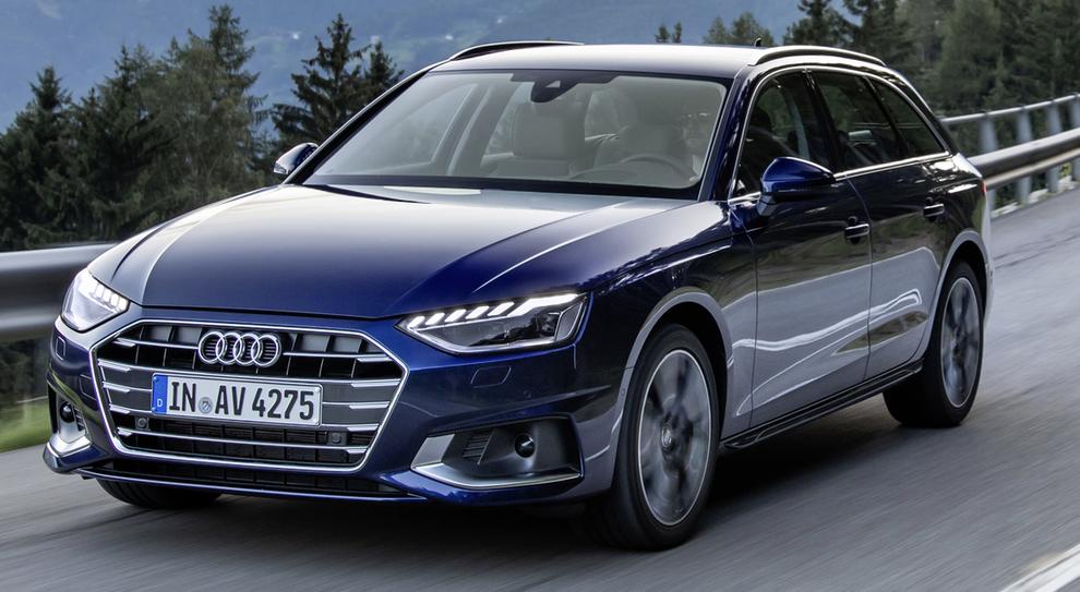 La rinnovata Audi A4 in versione station wagon