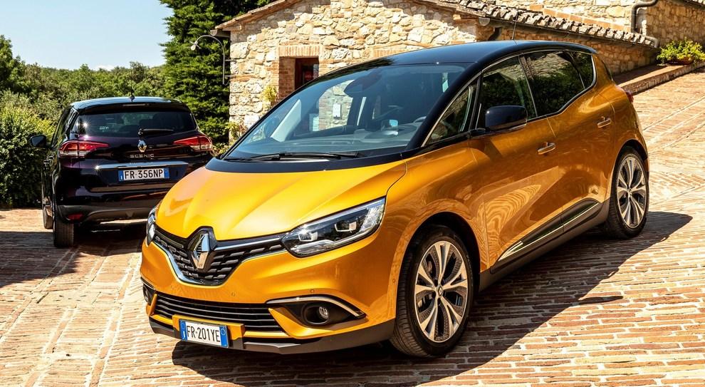 La Renault Scenic dotata del nuovo motore TCe 1.3 a benzina