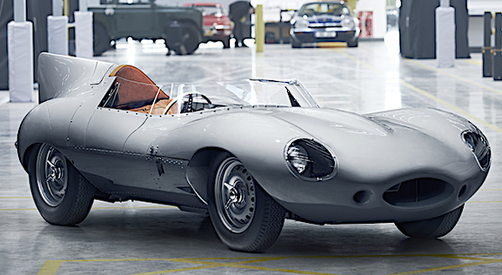 La Jaguar D-Type in versione ''Long nose''