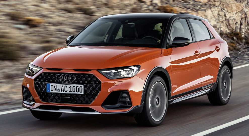 La nuova Audi A1 Citycarver
